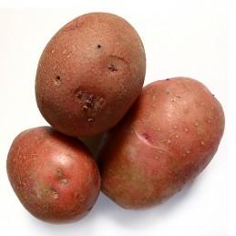 Картофи червени мити 1кг.