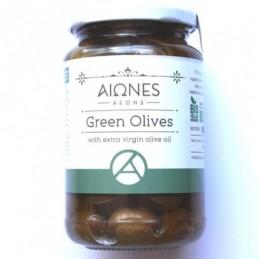 Зелени маслини със зехтин 210g