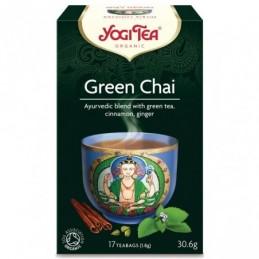 Йоги чай green chai 17 пак...