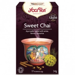 Йоги чай sweet chai 17 пак...