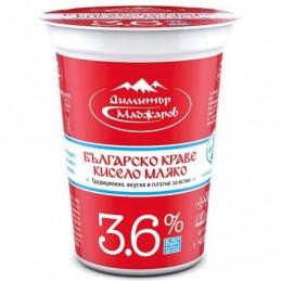 Кисело мляко 3.6% БДС Маджаров