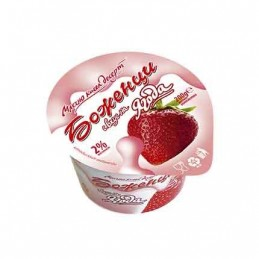 Млечно кисел десерт ягода...